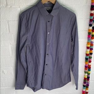 Express Fitted Button Down sz M